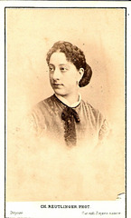 Alexandrine (Marie) Cico by Reutlinger