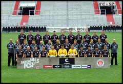 Mannschaftsfoto FC St. Pauli, Saison 2014-15