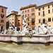 The Fountain of Neptune in Piazza Navona, June 2012