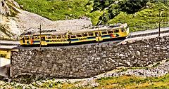 Die Wendelstein Zahnradbahn