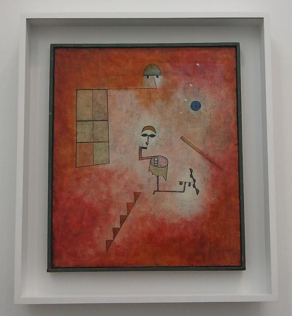 Prestidigitator by Klee in the Philadelphia Museum of Art, January 2012