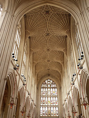 Bath Abbey vaulting