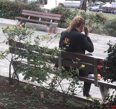 Bench Lady / La Dame sur le banc - Originale