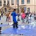Seifenblasen - vor der Frauenkirche in Dresden