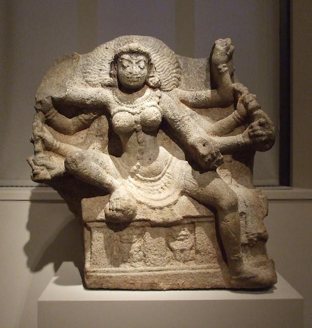 The Goddess Durga as the Slayer of the Demon Nishumbha in the Philadelphia Museum of Art, January 2012