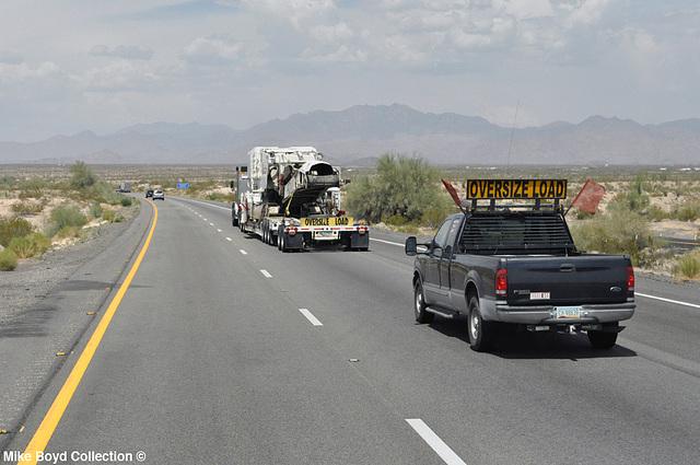 ely heavy haul kw t800w conveyer unit i40 yucca az 07'14