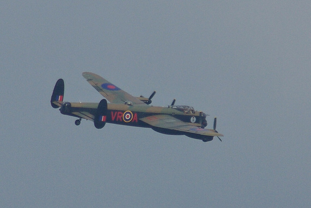The Two Avro Lancasters - The Canadian plane VERA