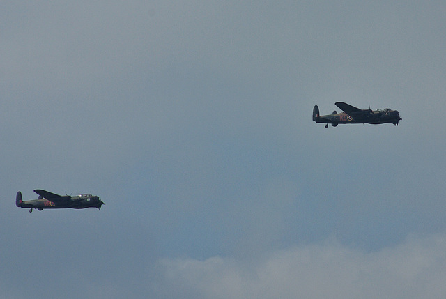 The Two Avro Lancasters