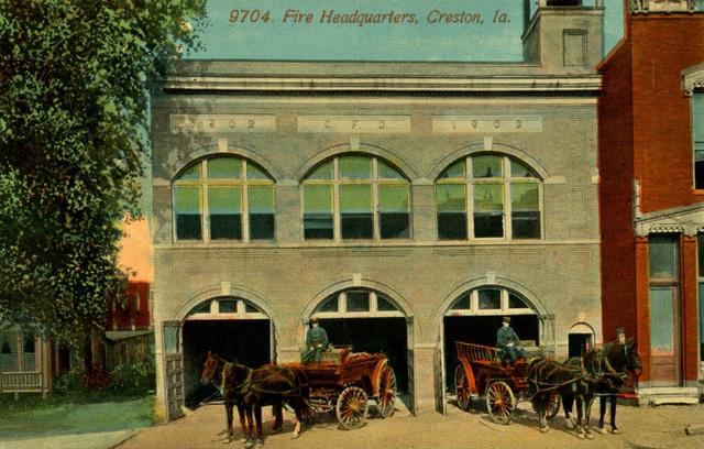 Creston Fire Department Headquarters, Creston, Iowa