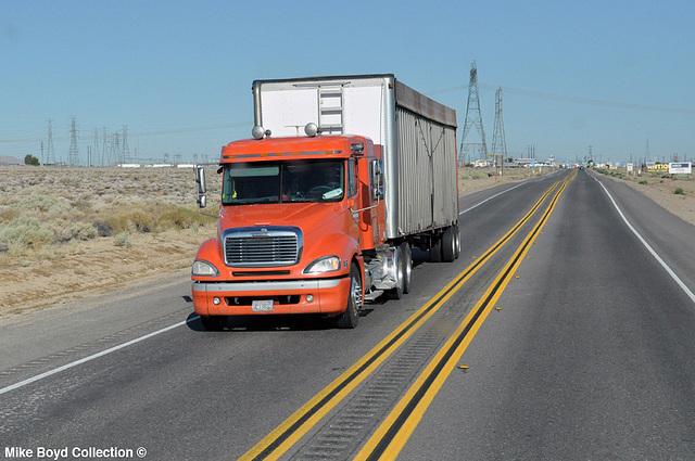johnson trucking frtlnr columbia ag van ca sr58 boron ca 07'14