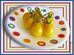 tiny tomato harvest