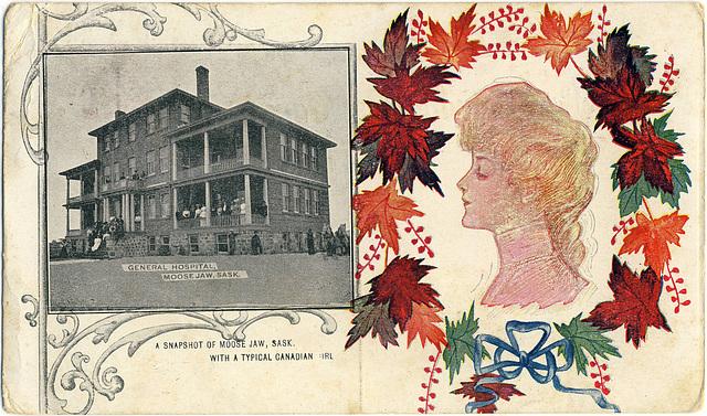 3977. General Hospital, Moose Jaw, Sask.