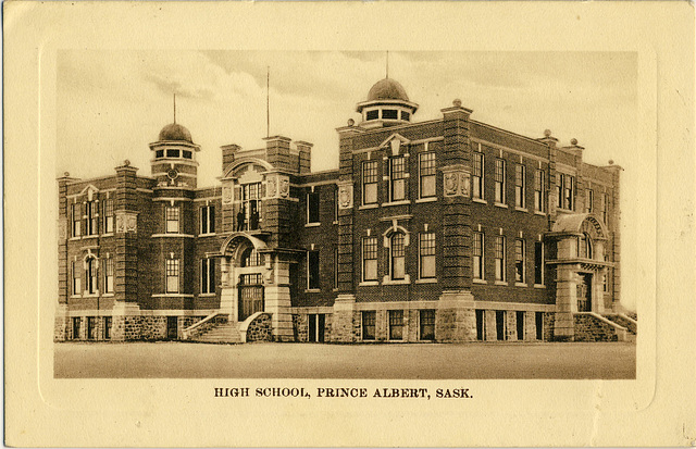 3978. High School, Prince Albert, Sask.
