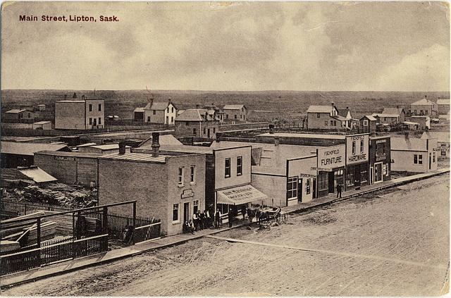 3981. Main Street, Lipton, Sask.