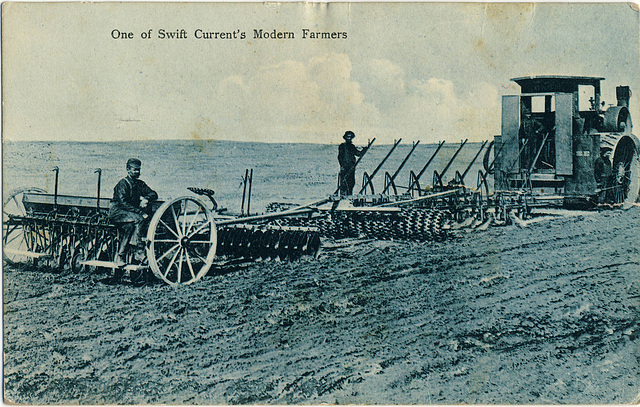 3984. One of Swift Current's Modern Farmers