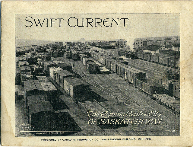 3986. Swift Current - The Coming Centre City of Saskatchewan