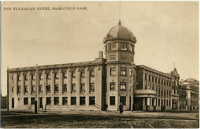 3987. The Flanagan Hotel, Saskatoon, Sask.