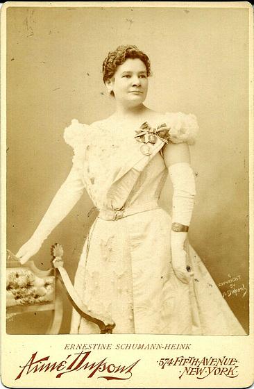 Ernestine Schumann-Heink by Aime Dupont