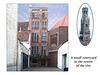 City centre courtyard Bruges   11.6.2005
