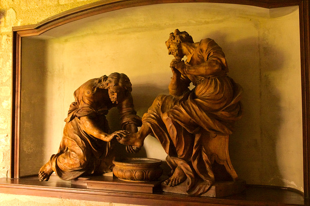 Wood Carving at Heiligenkreuz Abbey