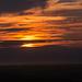 Sonnenuntergang über Glastonbury - 20140807