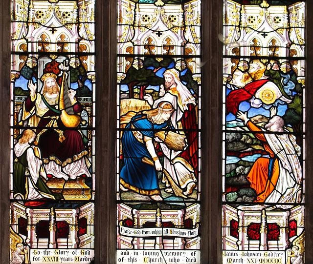 Stained Glass, Bluntisham Church, Cambridgeshire