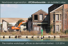 The marine workshops offices - 12.9.2014