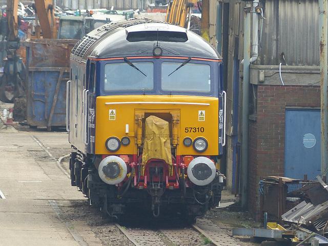 57310 at Eastleigh - 6 September 2014