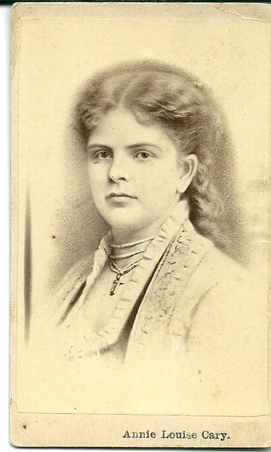 Annie Louise Cary by Unknown (2)
