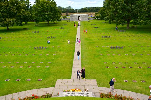La Cambe German war cemetery 2014