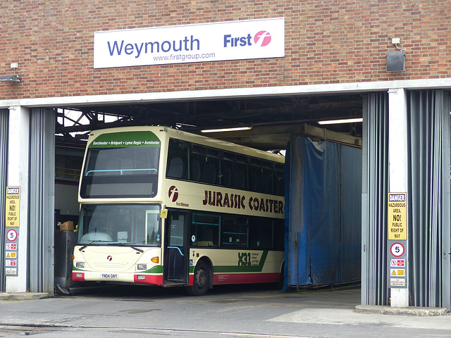 First in Weymouth (5) - 1 September 2014