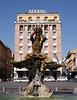 Detail of The Triton Fountain by Bernini in Piazza Barberini in Rome, June 2012