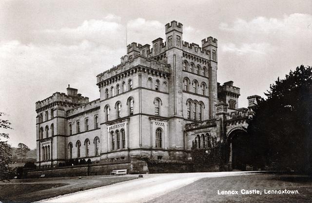Lennox Castle, Dunbartonshire, Scotland (Burnt 2008 and now a ruin)