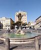 The Triton Fountain by Bernini in Piazza Barberini in Rome, June 2012