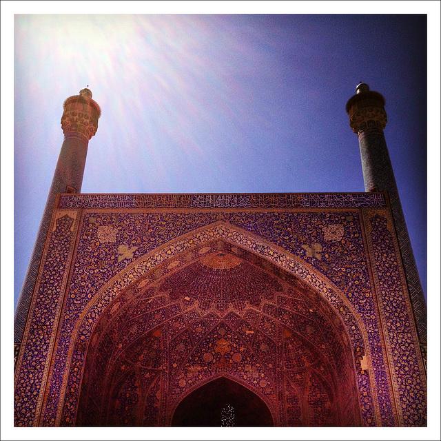 The Twin Minarets.