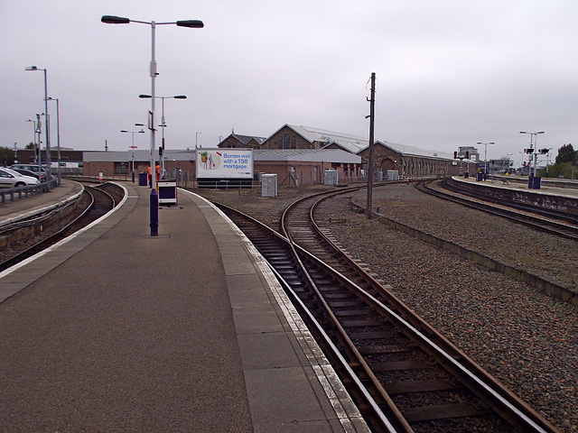 Reversing triangle - Inverness station