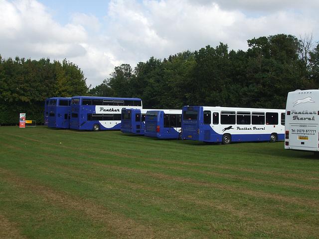 DSCF6045 Panther Travel line up at Showbus 2014
