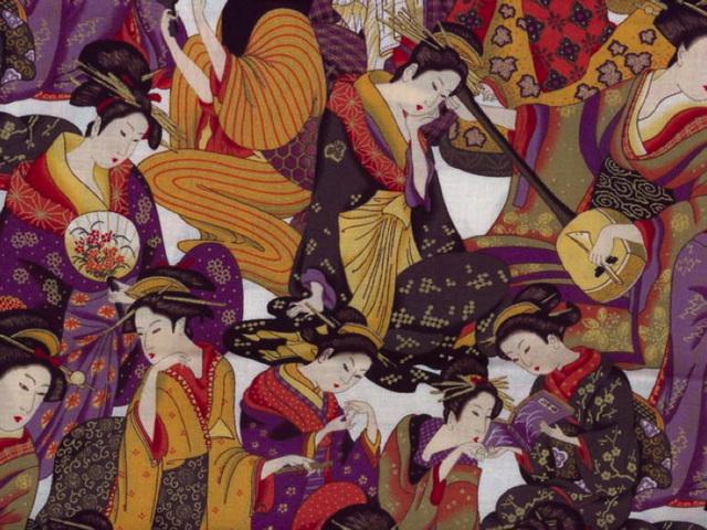 Voyage en Asie - Textile Art