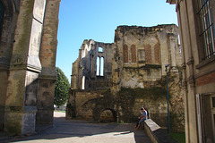 Ruins of the episcopal chapel