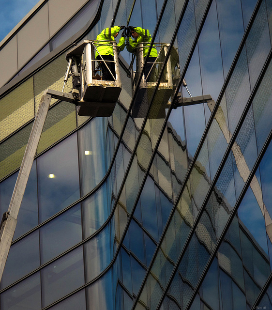 repairing the windows