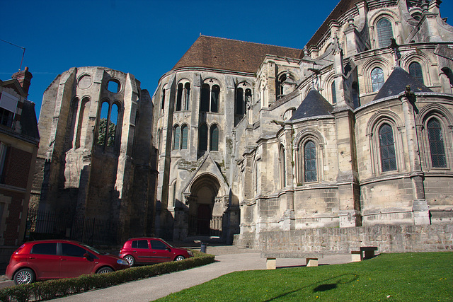 Rear side of the cathedral