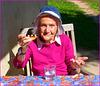 Ma maman, 94 ans: elle est pas belle, la vie ? :o))