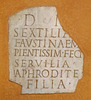Latin Inscription in the American Academy in Rome, June 2012