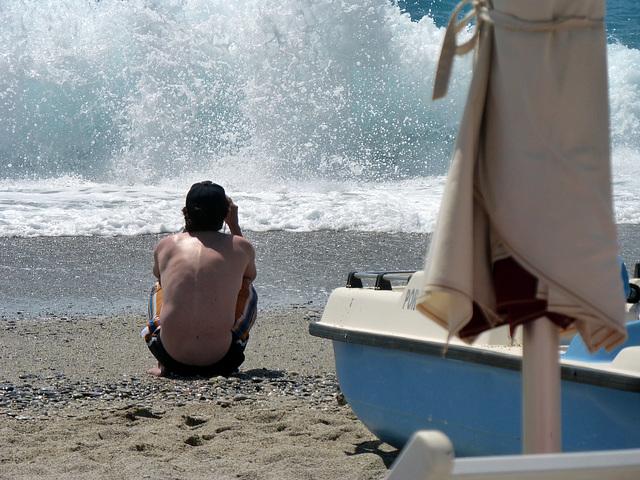 fotografi alla spiaggia