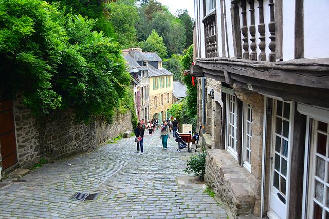 Dinan 2014 – Rue du Petit Fort