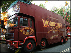 fairground lorry