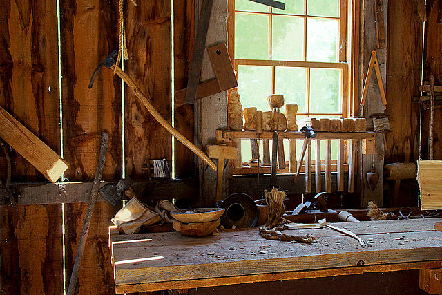 An old woodworking shop
