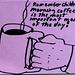 Morning doodle, Remember children