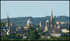 Oxford spires poster