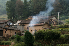 Village dans le Baimashan.